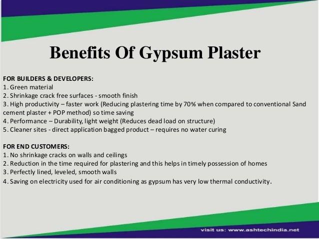 Gypsum Plaster Walls : Gypsum plaster