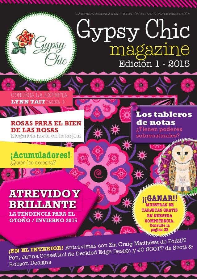 Gypsy chic issue 1 es