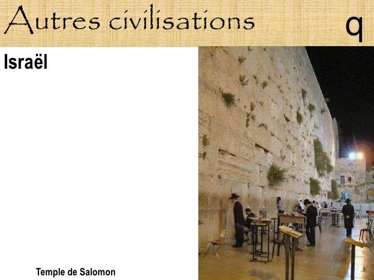 Autres civilisations    q Israël         Temple de Salomon