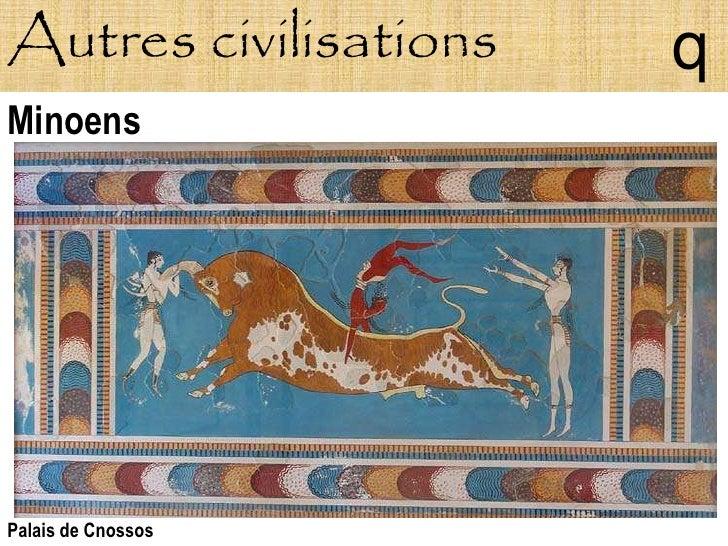 Autres civilisations   q Minoens     Palais de Cnossos