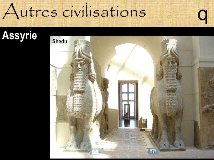 Autres civilisations   q Assyrie   Shedu