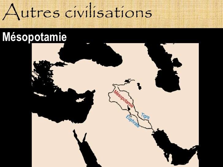 Autres civilisations Mésopotamie