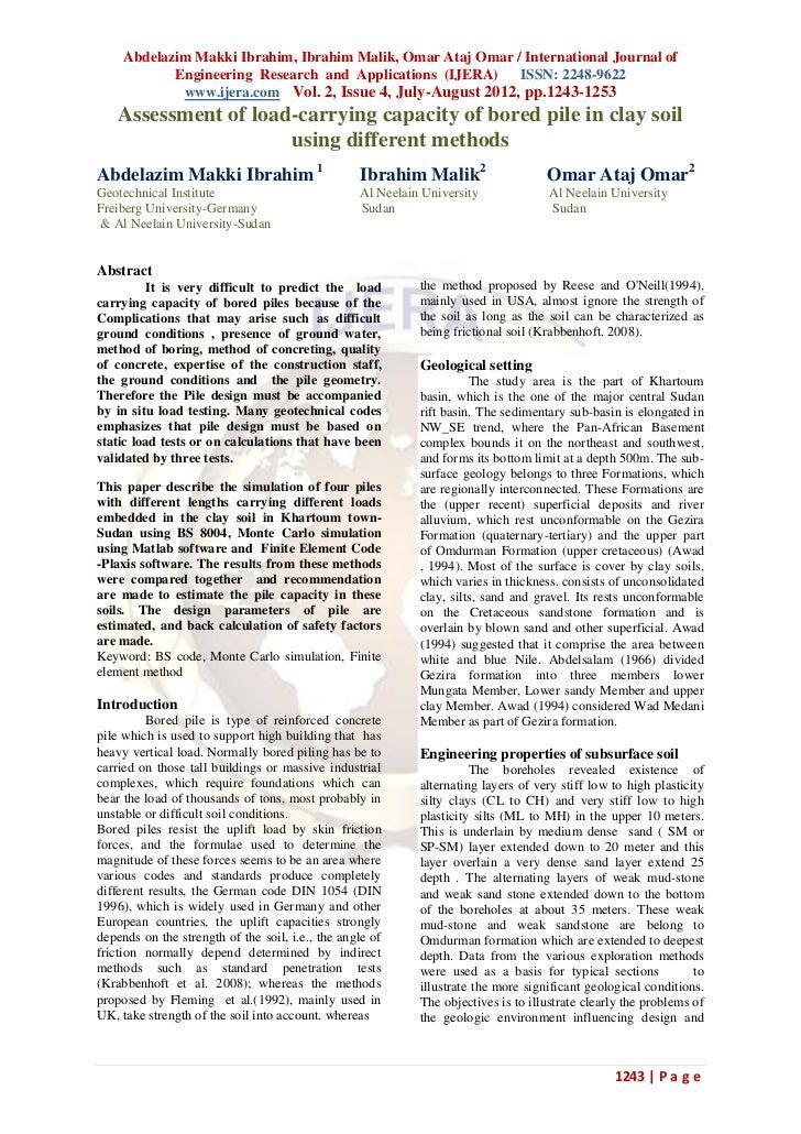Abdelazim Makki Ibrahim, Ibrahim Malik, Omar Ataj Omar / International Journal of            Engineering Research and Appl...