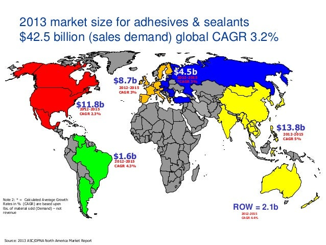 H B  Fuller state of the U S  Adhesive and Sealant Market 2014