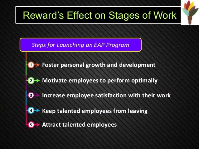 The relevance of rewards for employee
