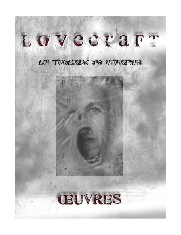 Howard Phillips LOVECRAFT 2