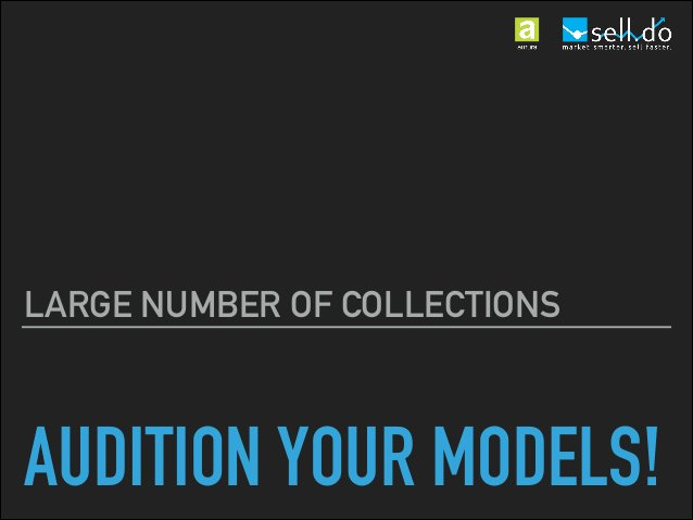 AUDITION YOUR MODELS! DO STI FOR THE RIGHT REASONS