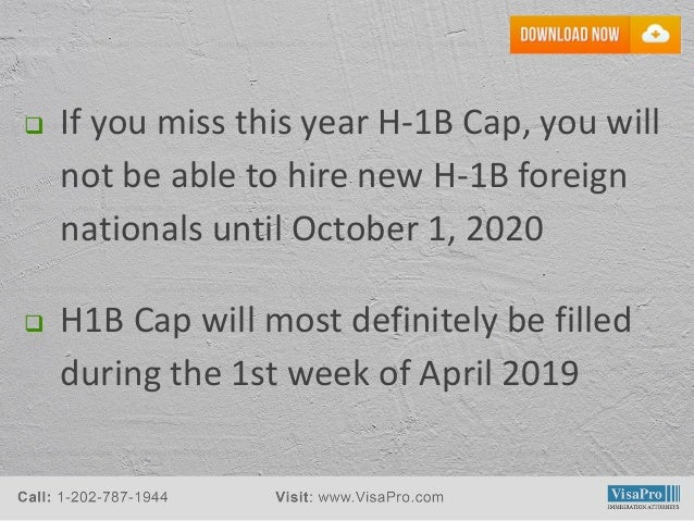 Free H1 Visa 2020 Timeline Template - Download Now