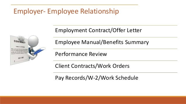 uscis memo employer employee relationship laws