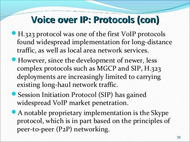 H.323 protocol