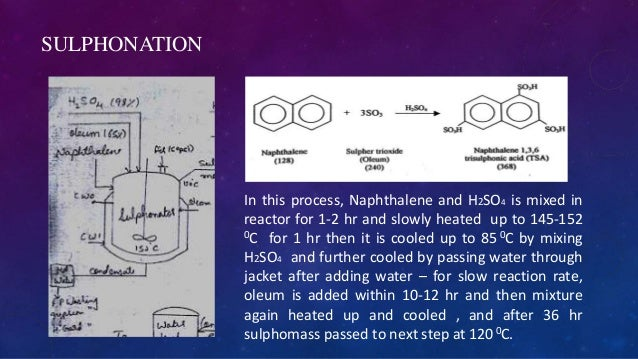 Sulphonation Plant Process