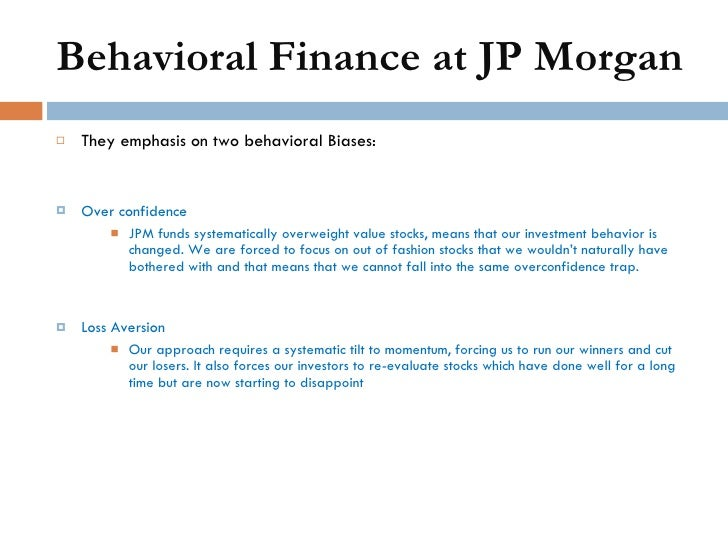 Phd thesis behavioral finance