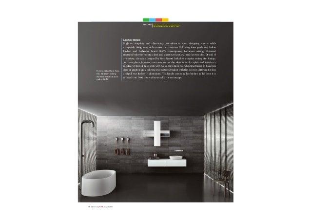 Future Bathroom Special Publication India Today Home Magazine