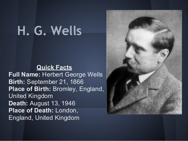the life of herbert george wells and the concept of time machine Herbert george wells, usually referred to as h g wells, was an english writer he was prolific in many genres, writing dozens of novels, short stories, and.