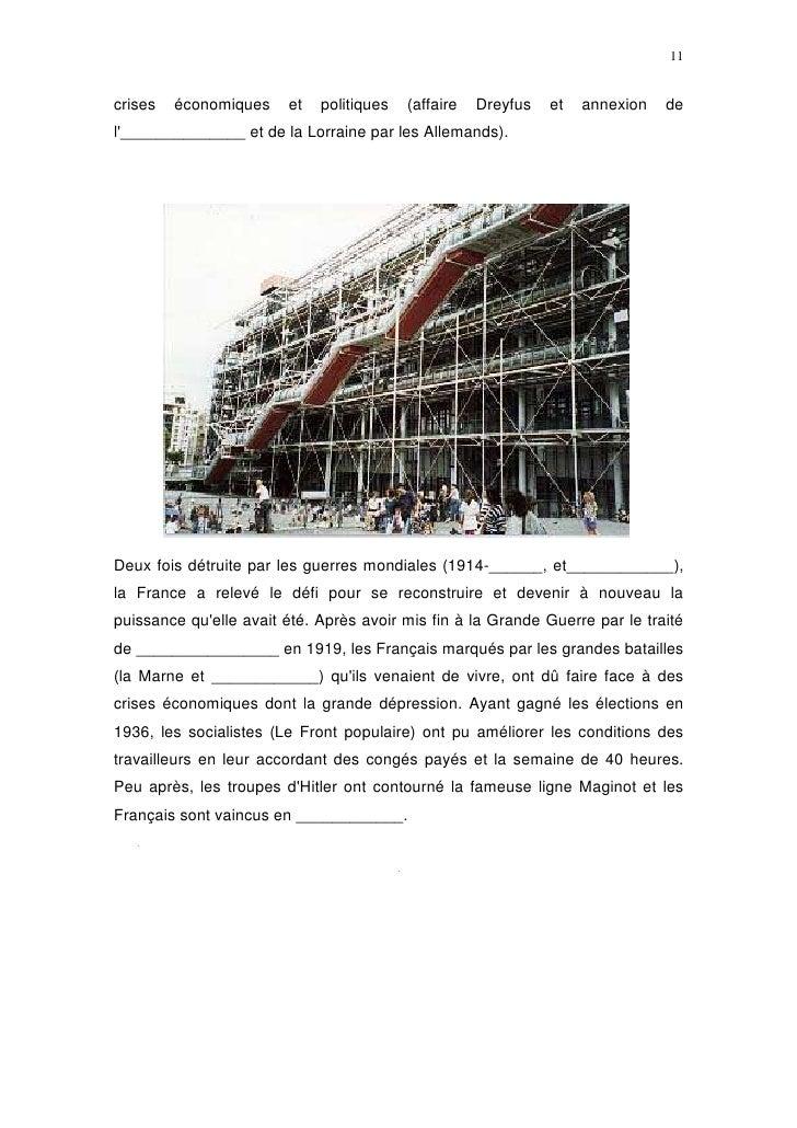 11   crises   économiques    et   politiques   (affaire   Dreyfus   et   annexion   de l'______________ et de la Lorraine ...