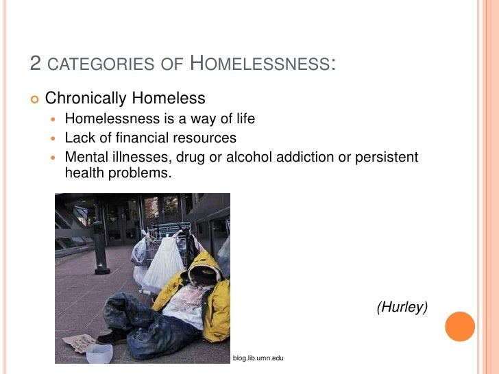 Help on writing a paper on the homeless