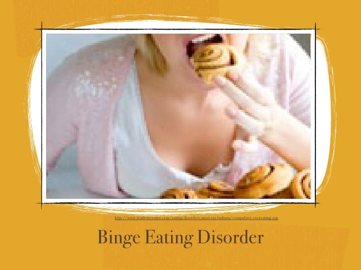 binge eating thesis Binge eating disorder (bed) is an eating disorder characterized by frequent and recurrent binge eating episodes with associated negative psychological and social.