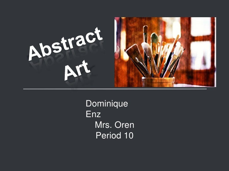 Abstract<br />Art<br />
