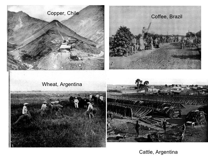 Copper, Chile Coffee, Brazil Wheat, Argentina Cattle, Argentina