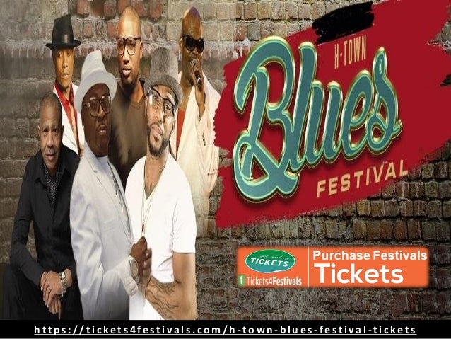 H-Town Blues Festival Tickets from Tickets4Festivals Slide 3