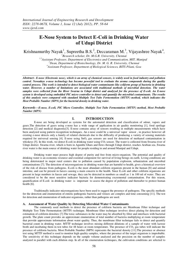 International Journal of Engineering Research and DevelopmentISSN: 2278-067X, Volume 1, Issue 12 (July 2012), PP. 58-64www...