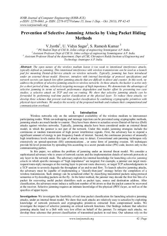 IOSR Journal of Computer Engineering (IOSR-JCE) e-ISSN: 2278-0661, p- ISSN: 2278-8727Volume 15, Issue 1 (Sep. - Oct. 2013)...
