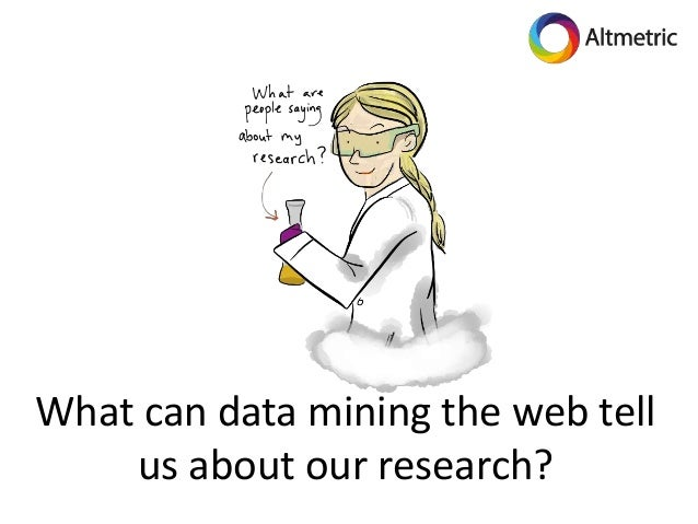 What can data mining the web tell us about our research