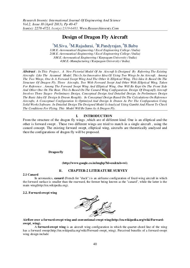 Research Inventy: International Journal Of Engineering And ScienceVol.2, Issue 10 (April 2013), Pp 40-47Issn(e): 2278-4721...