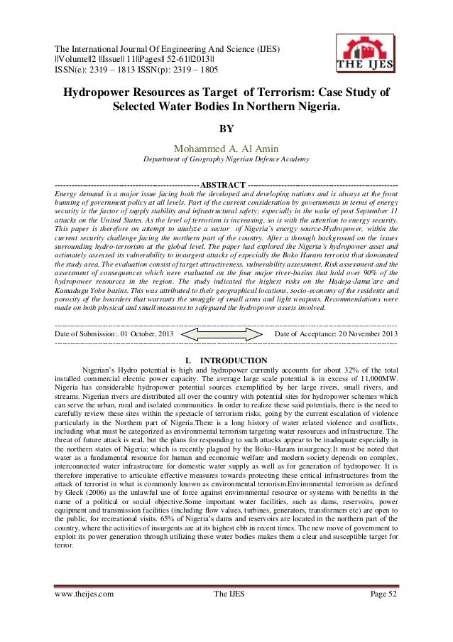 The International Journal Of Engineering And Science (IJES)   Volume  2   Issue   11  Pages   52-61  2013   ISSN(e): 2319 ...