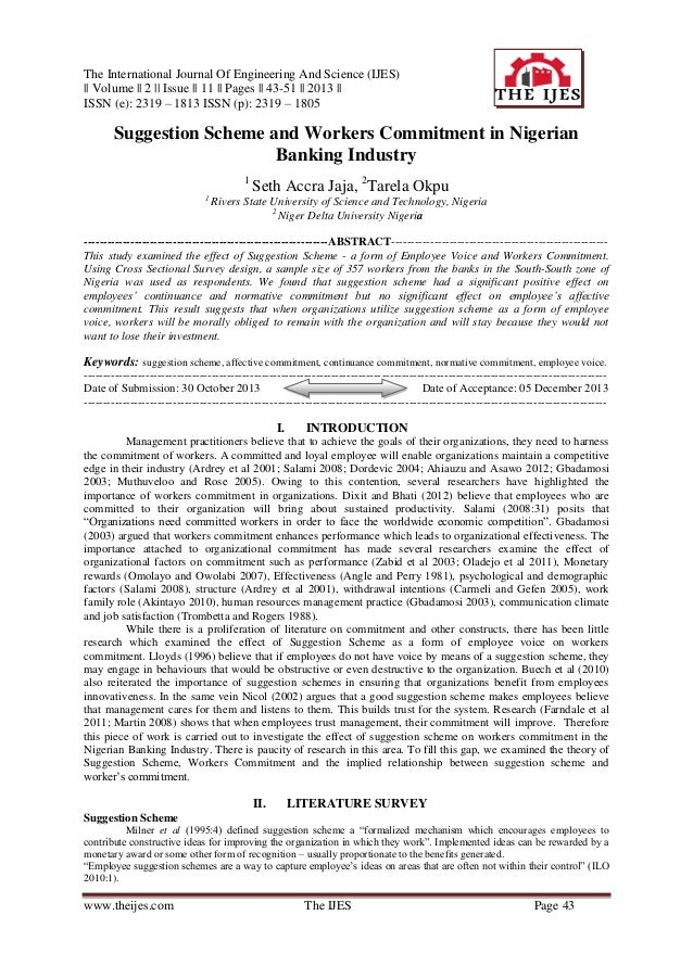 The International Journal Of Engineering And Science (IJES)    Volume    2    Issue    11    Pages    43-51    2013    ISS...