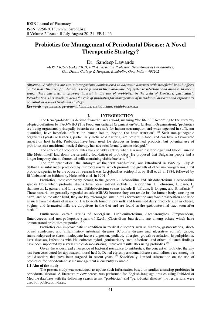 A research paper on pharmacy