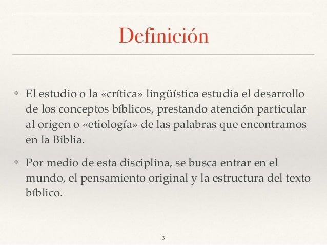 Hermenéutica Crítica Linguística