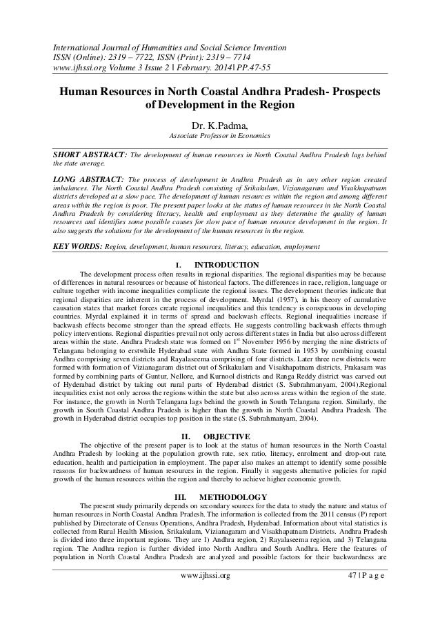 International Journal of Humanities and Social Science Invention ISSN (Online): 2319 – 7722, ISSN (Print): 2319 – 7714 www...
