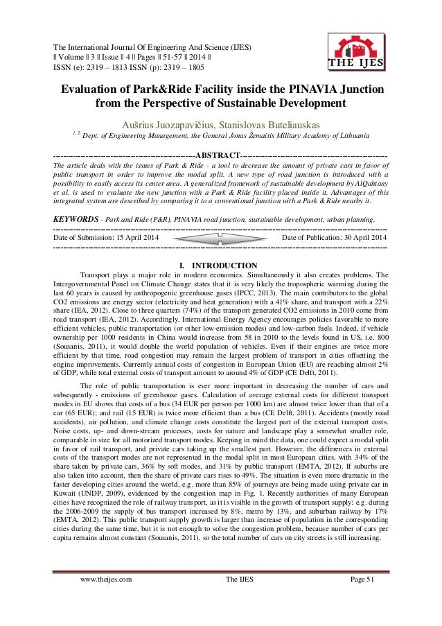 The International Journal Of Engineering And Science (IJES)    Volume    3    Issue    4    Pages    51-57    2014    ISSN...