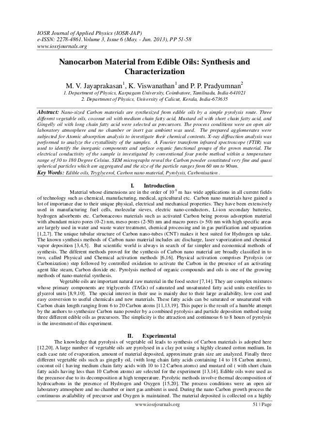IOSR Journal of Applied Physics (IOSR-JAP) e-ISSN: 2278-4861.Volume 3, Issue 6 (May. - Jun. 2013), PP 51-58 www.iosrjourna...