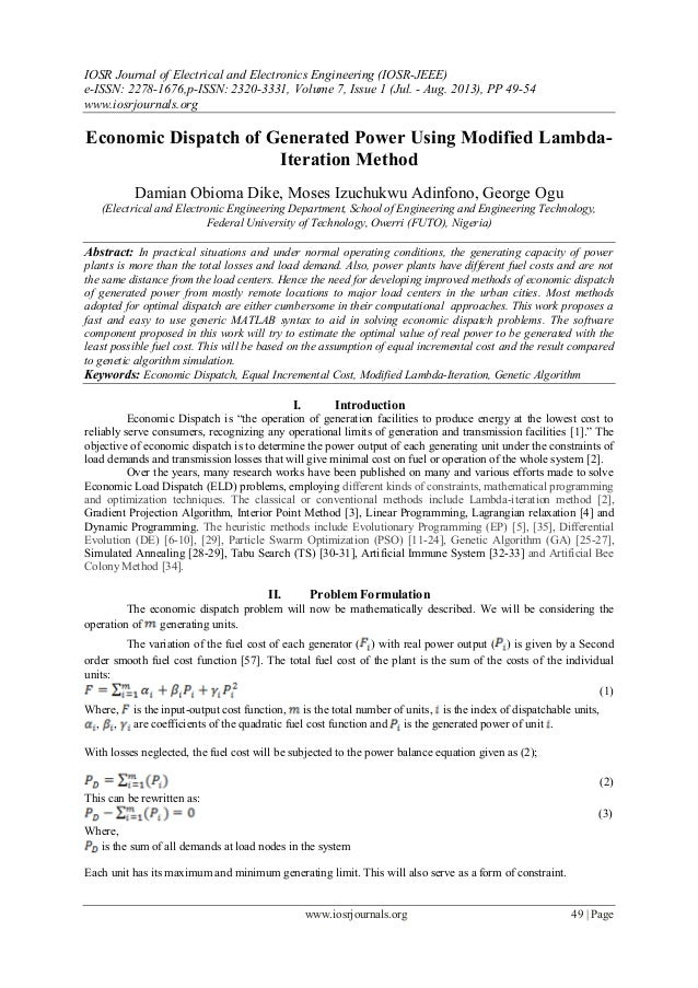 IOSR Journal of Electrical and Electronics Engineering (IOSR-JEEE) e-ISSN: 2278-1676,p-ISSN: 2320-3331, Volume 7, Issue 1 ...