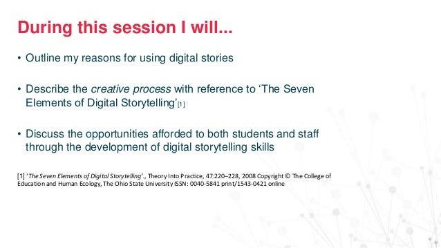 Digital storytelling for all Slide 3