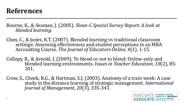 distance learning vs traditional classroom comparative The use of computer simulation to compare student performance in  a casual-comparative design was chosen for this study to  traditional classroom, distance.