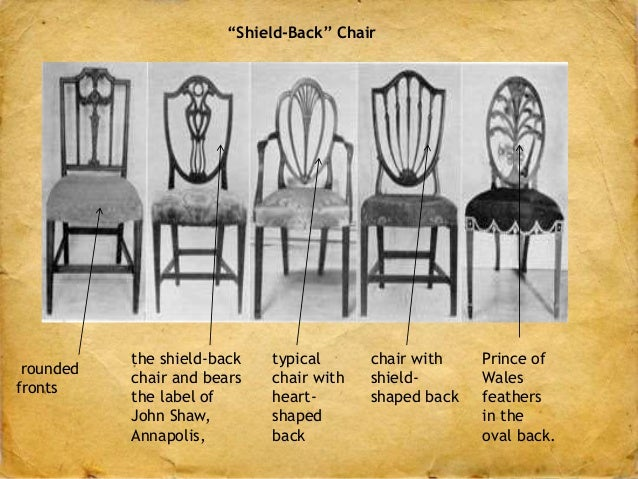 U201cShield Backu201d Chair ...