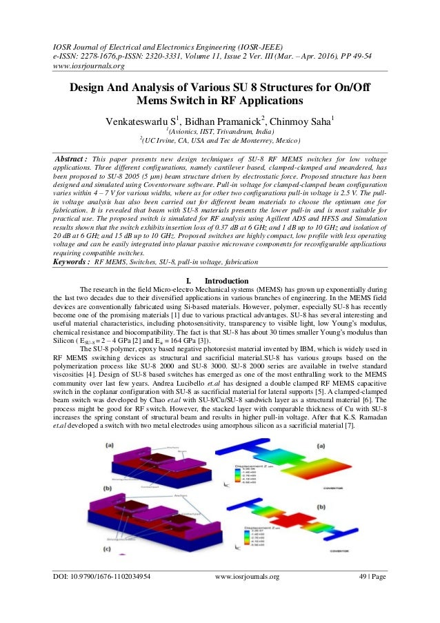 IOSR Journal of Electrical and Electronics Engineering (IOSR-JEEE) e-ISSN: 2278-1676,p-ISSN: 2320-3331, Volume 11, Issue 2...