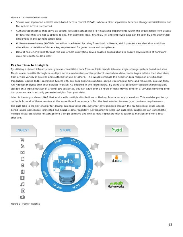 12 Figure 8. Authentication zones • Secure role separation enables roles-based access control (RBAC), where a clear separa...