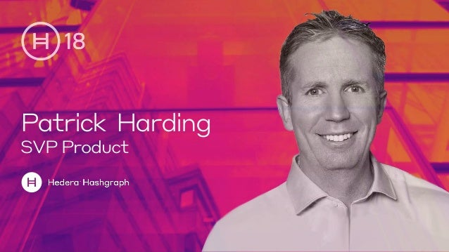 Patrick Harding SVP Product