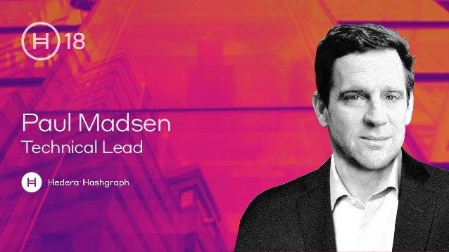 PaulMadsen Technical Lead
