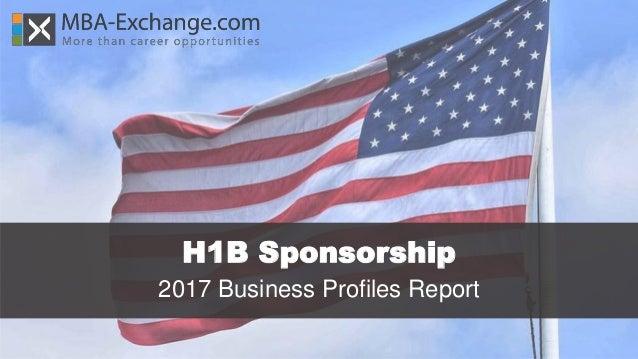 H1B Sponsorship 2017 Business Profiles Report