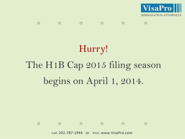 H1B Visa 2015 Predictions: What Are Your Chances of Being Selected? Slide 2