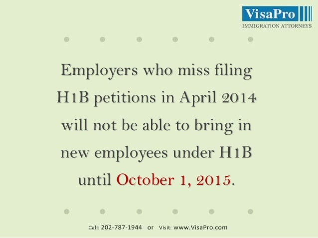 H1B Visa 2015 Predictions: What Are Your Chances of Being Selected? Slide 3