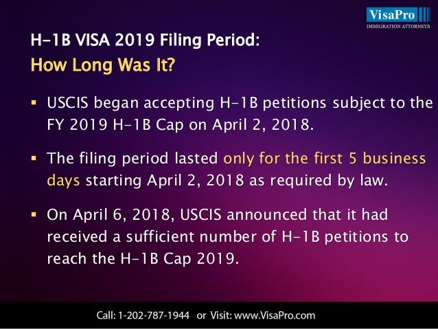 H1B 2019 Visa:Facts and Figures Ahead Of The Big Day April 1