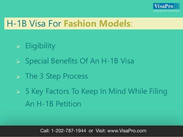 H1B Work Visa For Fashion Models: How To Get A Work Visa To Model In USA Slide 3