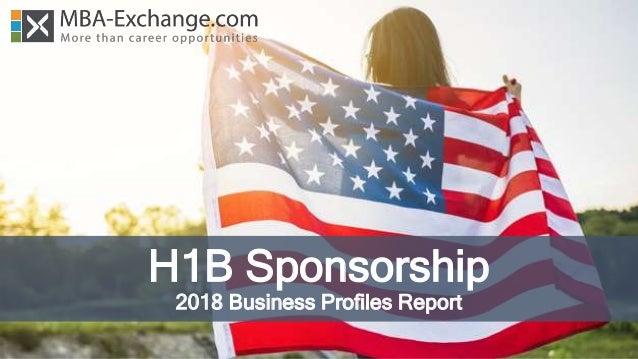 H1B Sponsorship 2018 Business Profiles Report