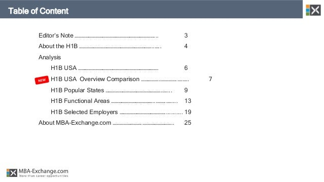 H1B Sponsorship - 2018 Business Profiles Report  Slide 2